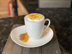 Golden Turmeric Vanilla Protein Latte Recipe - Family Life Tips